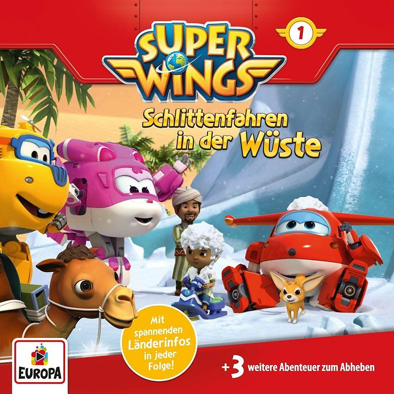 001 Schlittenfahren In Der Wüste Super Wings Acheter Cd