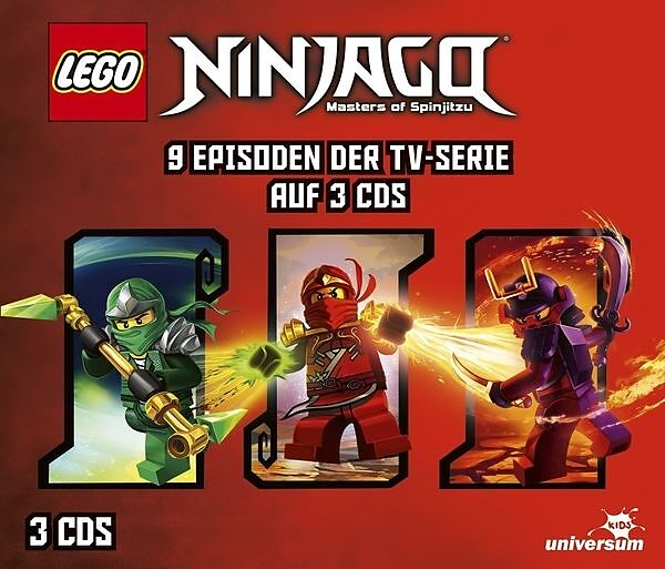 Lego Ninjago Hörspielbox 3 Hörbuch Kaufen Ex Libris