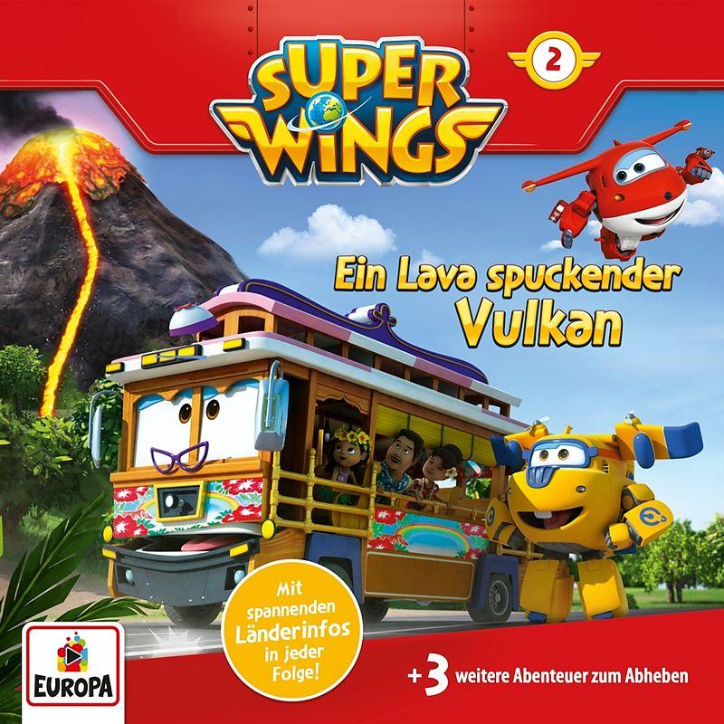 002 Ein Lava Spuckender Vulkan Super Wings Acheter Cd Exlibris Ch