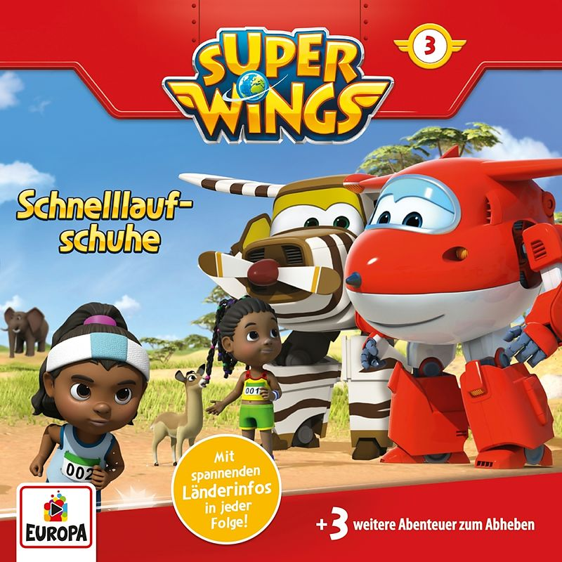 003 Schnelllaufschuhe Super Wings Acheter Cd Exlibris Ch
