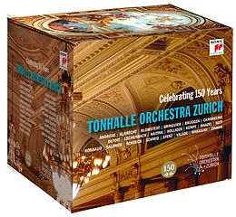 Tonhalle-orchester Zürich CD 150th Anniversary Edition - 14 Cd