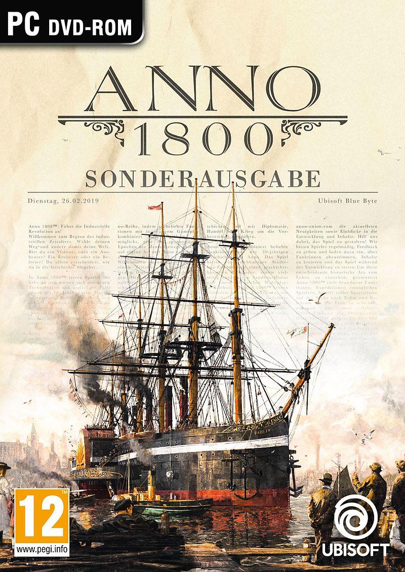 Anno 1800 Sonderausgabe [DVD] [PC] (D)