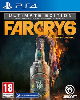 Far Cry 6 - Ultimate Edition [PS4/Upgrade to PS5] (D/F/I) als PlayStation 4, PlayStation 5,-Spiel