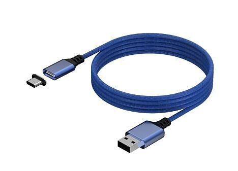 KONIX - Mythics Premium Magnetic Cable 3m - blue [XSX]
