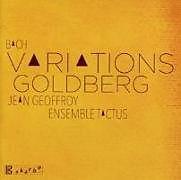 Geoffroy,Jean/Ensemble Tactus CD Goldberg-Variationen
