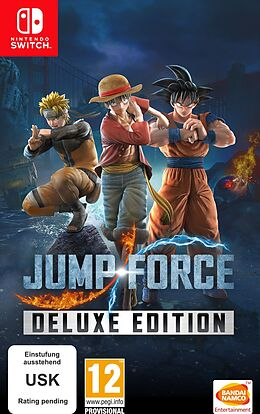 Jump Force: Deluxe Edition [NSW] (D/F/I) comme un jeu Nintendo Switch