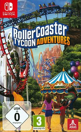 Rollercoaster Tycoon Adventures [NSW] (D/F) comme un jeu Nintendo Switch