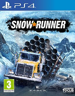 SnowRunner [PS4] (D) als PlayStation 4-Spiel
