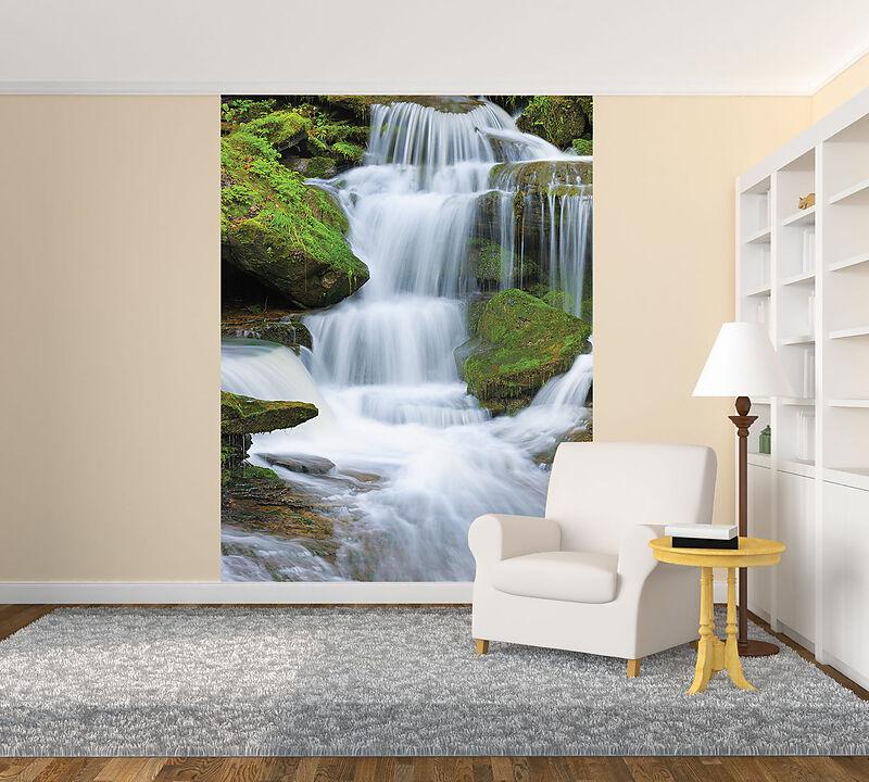 Wasserfall Foto Tapete Deko Fototapeten Online Kaufen Ex Libris