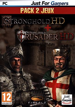 Stronghold HD + Strongold Crusader HD [DVD] [PC] (F) comme un jeu Windows PC