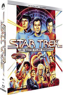 Coffret Star Trek-4 Films Originaux -4K Blu-ray UHD 4K