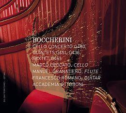 Cello Concerto G.480, Quintettes G.451,