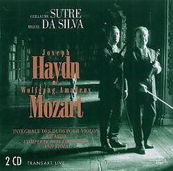 Intégrale des duos violon/ alto - Guillaume SUTRE, Miguel DA SILVA ...