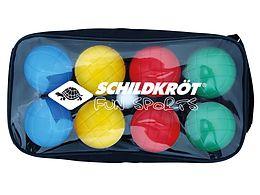 schildkr t fun boccia set 4x2 boule kugeln durchmesser 7 25 cm outdoor spielzeug online. Black Bedroom Furniture Sets. Home Design Ideas