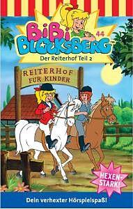 Bibi Blocksberg Musikkassette Folge 044: Der Reiterhof Teil 2