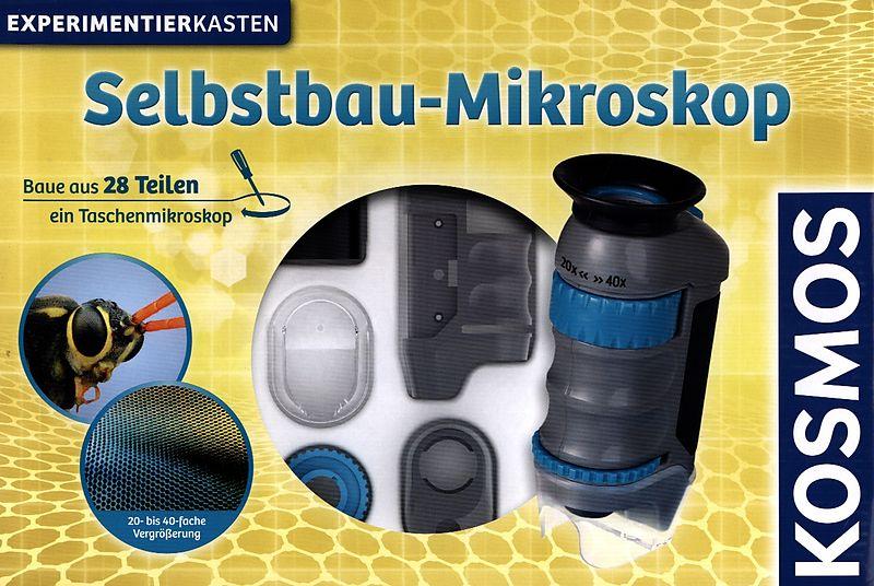 Kosmos 634025 experimente & forschung selbstbau mikroskop