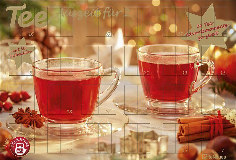 Weihnachtskalender Tee.Tee Adventskalender Für Zwei