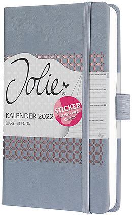 Fester Einband Jolie Impress Wochenkalender Glacier Grey A6 2022 von