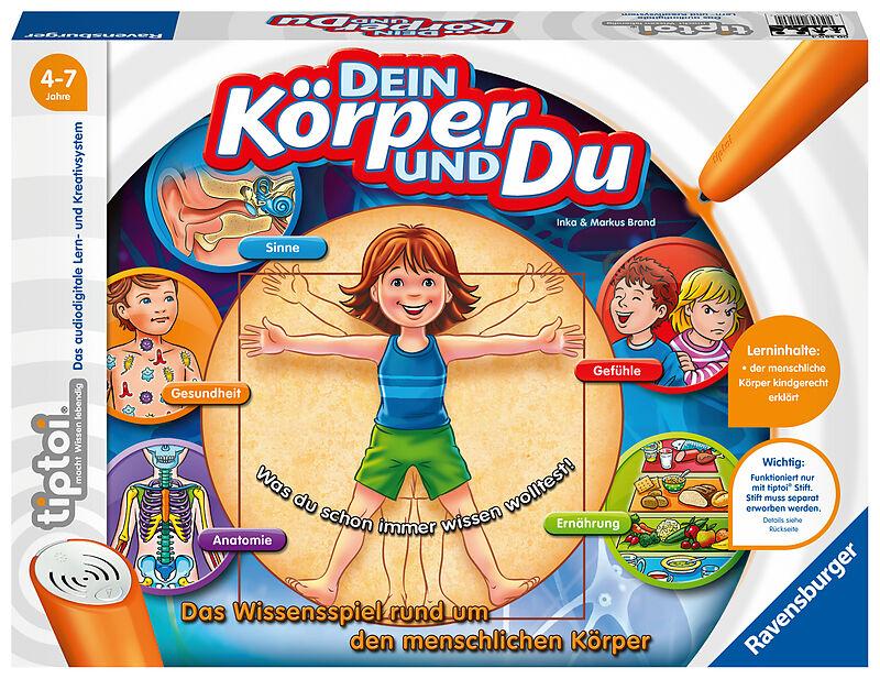 tiptoi: Dein Körper und du - Lernspiele online bestellen | exlibris.ch