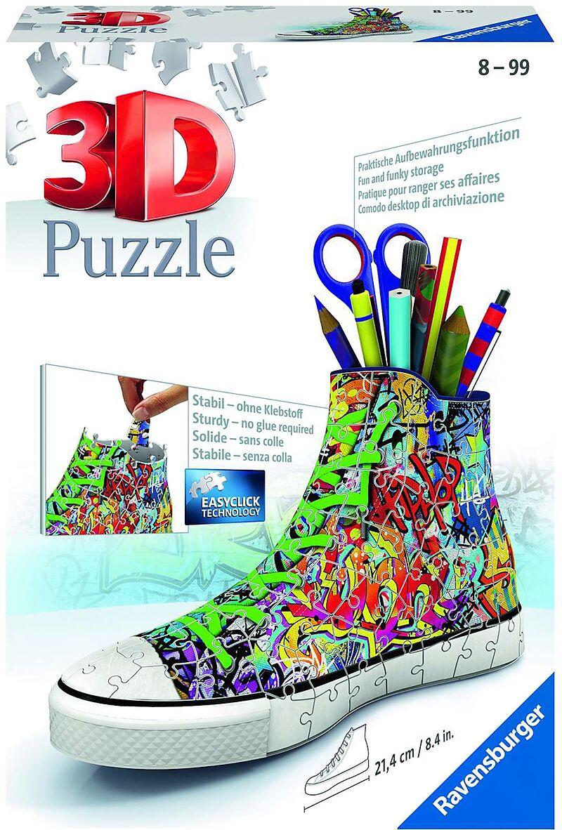 Sneaker Graffiti 3d Puzzle 108 Teile Familienspiele Online