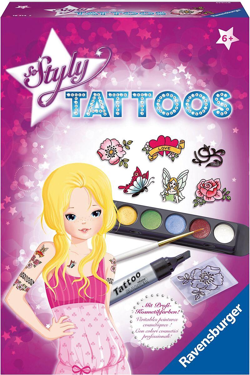 Mal- & Zeichenmaterialien für Kinder So Styly Tattoos Spiel Deutsch 2017 Malen & Zeichnen-Sets für Kinder