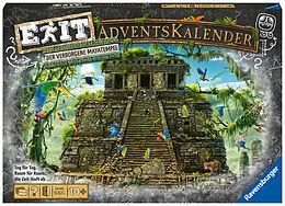 Ravensburger 18956 - EXIT Adventskalender - Der verborgene Mayatempel - 24 Rätsel für EXIT-Begeisterte ab 10 Jahren Spiel