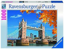 Geduldspiel Puzzles Puzzle 1000 Teile Spiel Deutsch 2016 Blick auf die Tower Bridge