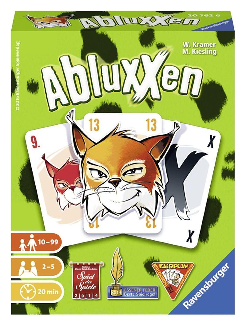 Ravensburger 20762 Abluxxen Kartenspiel Kartenspiele Online