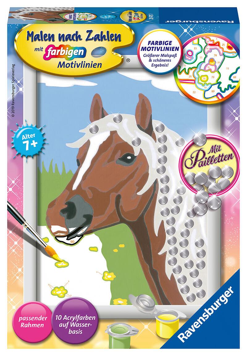 Ravensburger 28475 Malen Nach Zahlen Pferd