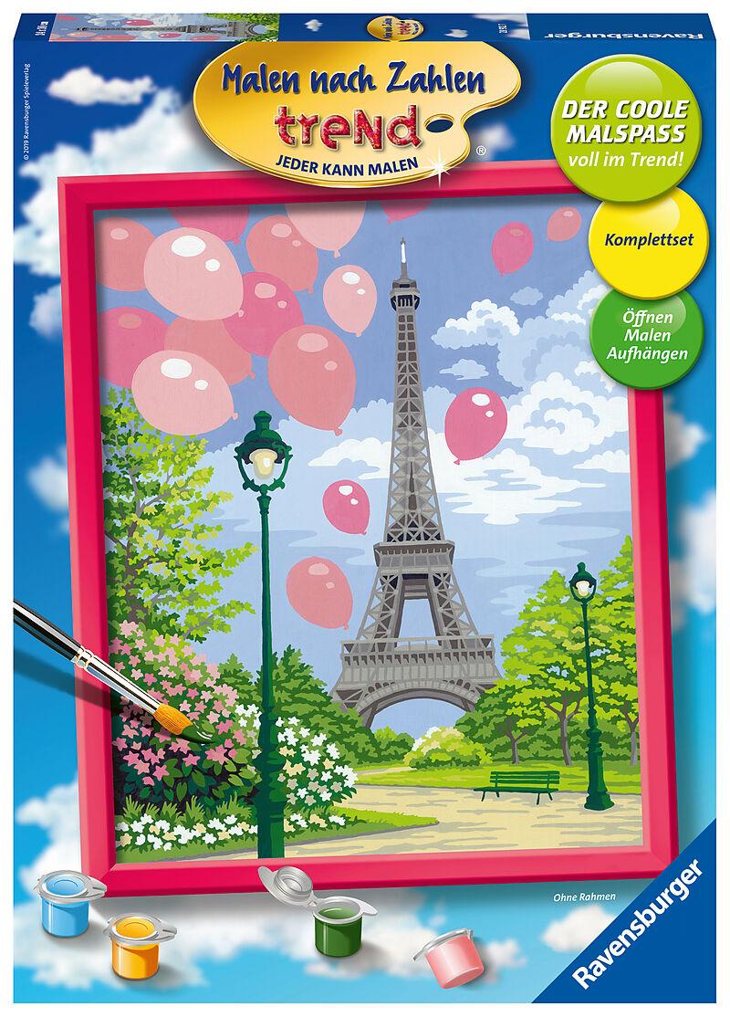 Malen Nach Zahlen Trend Frühling In Paris