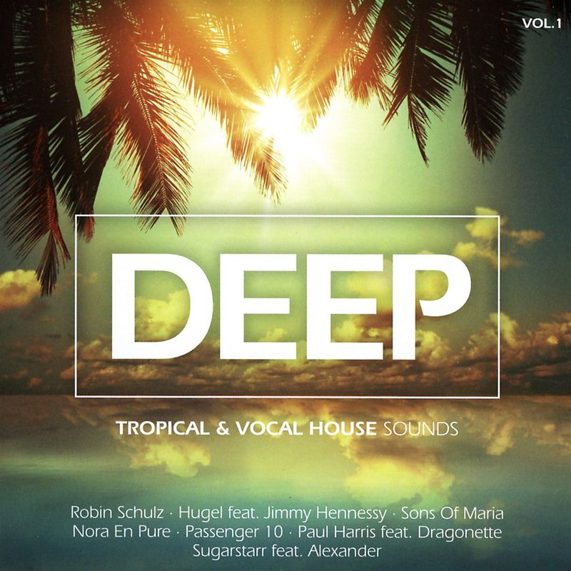 Deep vol 1 tropical vocal house various artists cd for 90s vocal house