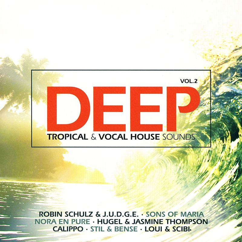 Deep vol 2 tropical vocal house various artists cd for 90s vocal house