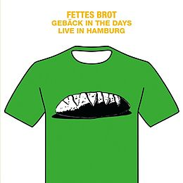 Fettes Brot Vinyl Gebäck In The Days-Live In Hamburg 2016/2LP+DVD