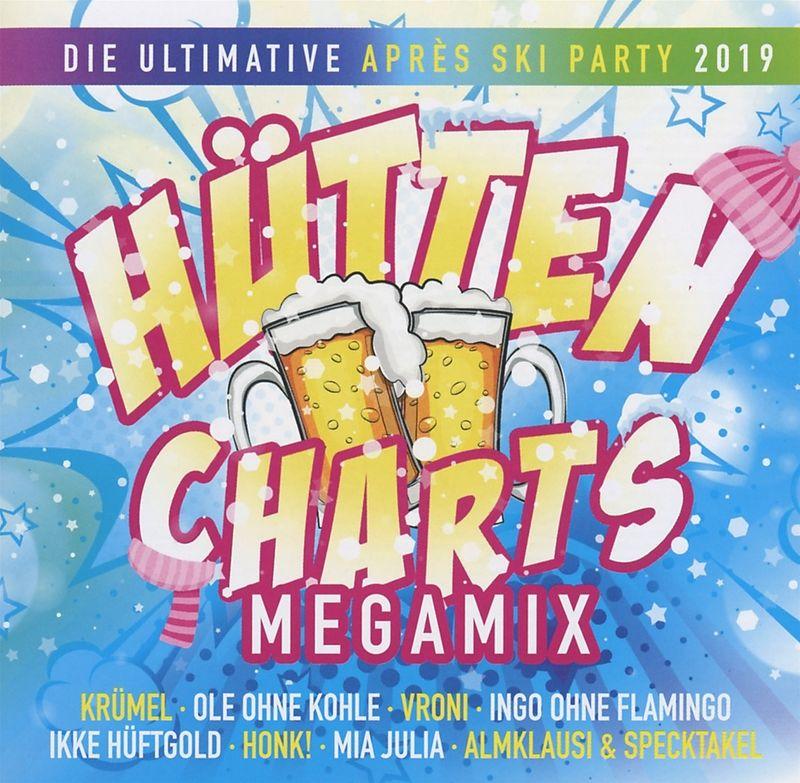 Hutten Charts Megamix 2019 Various Artists Acheter Cd Ex Libris