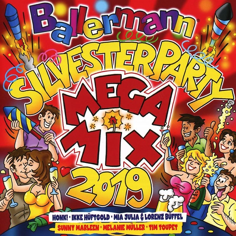 Ballermann Silvesterparty Megamix 2019 Various Artists Cd Kaufen