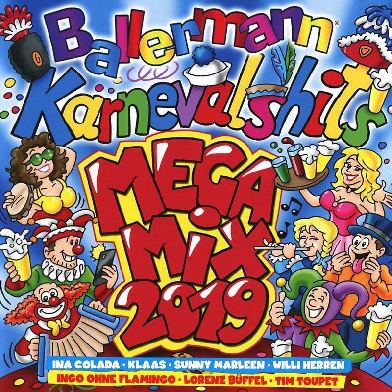 Ballermann Karnevalhits Megamix 2019 Various Artists Cd Kaufen