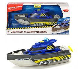 Dickie Toys 203714010 - SOS Series, Special Forces Patrol, Polizeiboot mit Funktionen, 1:24, Spiel
