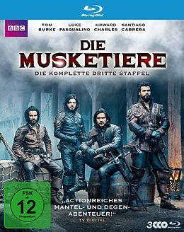 Die Musketiere - Die Komplette Dritte Staffel Blu-ray