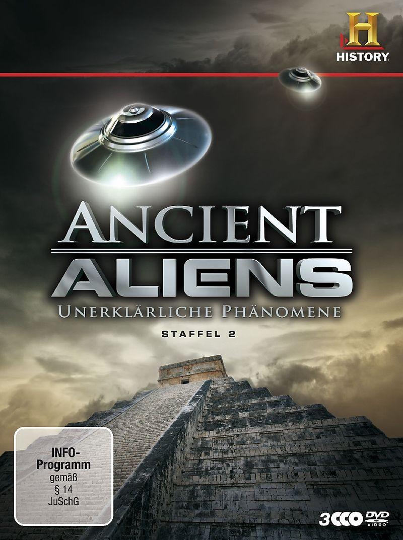 Ancient Aliens - Unerklärliche Phänomene - Staffel 02 [Version allemande]