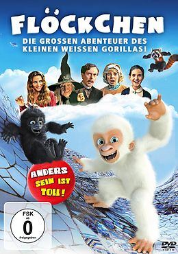 Flöckchen - Die grossen Abenteuer des kleinen weissen Gorillas DVD