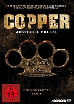 Copper - Justice is brutal DVD