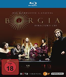 Borgia - Die Komplette 1.staffel - Director's Cut Blu-ray