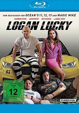 Logan Lucky Blu-ray