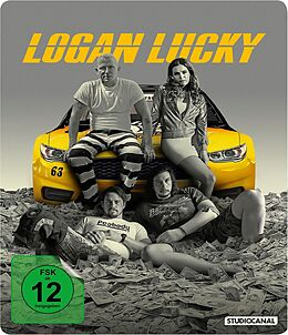 Logan Lucky - Steelbook Blu-ray