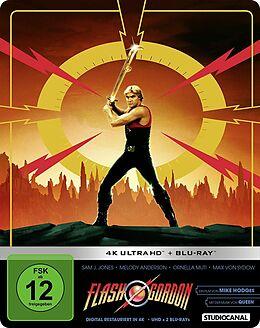 Flash Gordon Limited Steelbook Blu-ray UHD 4K