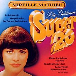 Mireille Mathieu CD Goldene Super 20