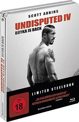 Undisputed IV - Boyka Is Back - Limited Steelbook Blu-ray