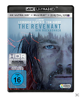 The Revenant - Der Rückkehrer Special 2-Disc Edition Blu-ray UHD 4K + Blu-ray