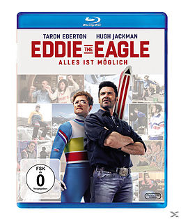 Eddie the Eagle - Alles ist möglich Blu-ray