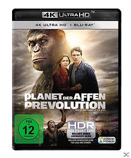 Planet der Affen - Prevolution Blu-ray UHD 4K + Blu-ray